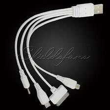 1pc 4 in 1 Car USB 2.0 Sync DATA Charger Cable for iphone Samsung S4 HTC&Nokia