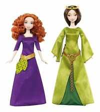 "Disney Princess Pixar Brave Merida & Queen Elinor Dolls 11"" New"