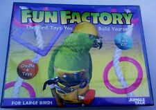 FUN FACTORY. The Bird Toys You Build Yourself! For Large Birds by JUNGLE TALK