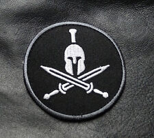 MOLON LABE SPARTAN  SHIELD TACTICAL ACU COMBAT MORALE 3 INCH HOOK PATCH