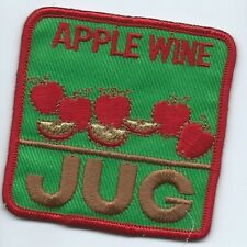 JUG apple wine patch employee/driver 3 X 3