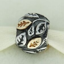 Authentic Pandora 790429 Tree of Life 14K Gold & Sterling Silver Bead Charm