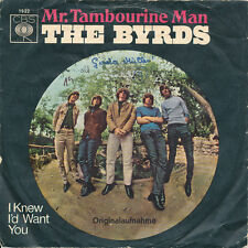 "7"" - The Byrds -  Mr. Tambourine Man / I Knew I'd Want You - CBS 1922 - DE 1965"
