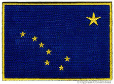 ALASKA STATE FLAG embroidered iron-on PATCH EMBLEM new
