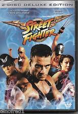 Street Fighter - 2 Disc Deluke Edition (DVD, 2004) NEW SEALED (Nordic Packing)
