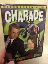 Charade-Cary Grant Audrey Hepburn(R2 DVD)New+Sealed Matthau Coburn Widescreen