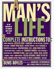 A Man's Life by Denis Boyles Paperback Book Free Shipping