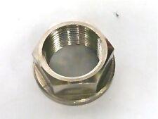 APRILIA TUONO V4R RSV MILLE   R  FRONT AXLE FLANGED NUT TITANIUM M25X1.5X10 R2D4