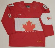 SIDNEY CROSBY 87 TEAM CANADA 2014 NIKE HOCKEY JERSEY SEWN STITCHED SIZE LARGE 48