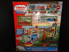 RARE THOMAS & FRIENDS TRACKMASTER MISTY ISLAND DELUXE SET MOTORIZED TRAIN  NEW