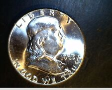 1963-P Franklin Half Dollar, From Mint, High Grade,  .3617 Oz Silver  (US-4366)