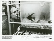 MICKEY ROURKE RUMBLE FISH COPPOLA 1983 VINTAGE PHOTO ORIGINAL #9