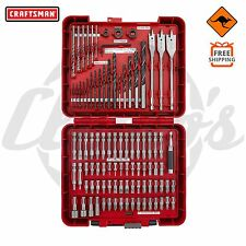 Craftsman 100pcs Impact Driver & Drill Set Nut Power Bits HSS Spade Philips