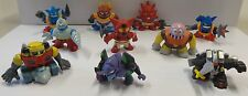 Gashapon Mini Figure 10 Robot Vintage Anni 80 90 Getta Boss Evangelion Dancouga