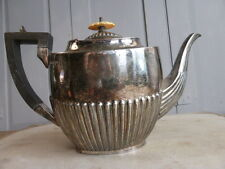Antique silver plated teapot by Walker & Hall Sheffield