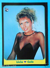 figurines cromos figurine masters cards n. 85 1993 licia colò  television tv gq