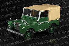 Minichamps Diecast RAF LAND ROVER 1948 Green Color 1/18 Limited 720pc