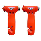 2pcs Car Vehicle Emergency Safety Hammer Seat Belt Cutter Bus for Escape