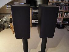 B & W DM602 S3 Speakers - Black Ash - EXCELLENT CONDITION