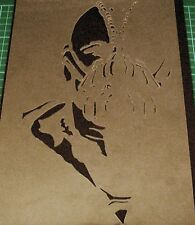 NEW THE DARK KNIGHT JOKER BATMAN Bane Airbrush Stencil Mask Paint Step Movie
