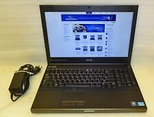 Dell Precision M4700 laptop 2.7 ghz QUAD core i7 8GB 256gb SSD Win 10 webcam