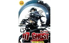 DVD 07 Ghost ( Vol. 1 - 25 End ) Complete Series + Free Shipping