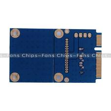 1pcs New mSATA Mini PCI-e SATA SSD Slot To 7 Pin SATA HDD Convert Card Adapter