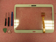 New Samsung Galaxy Tab 3 10.1 GT-P5210 P5200 White Touch Screen Digitizer Glass
