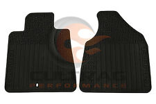 2012-2017 Traverse Genuine GM Front All Weather Floor Mats Black 22890016