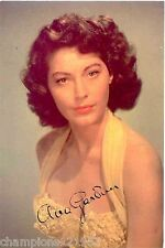 Ava Gardner ++Autogramm++ ++Hollywood Legende++2