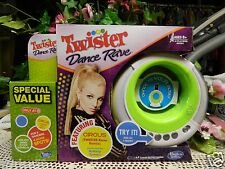 NIB TWISTER DANCE RAVE LIMELIGHT GREEN DANCE CONSOLE. BY BRITNEY SPEARS 4 TRACKS