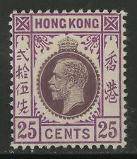 Hong Kong   1919   Scott #128    Mint Very Lightly Hinged