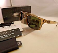 OAKLEY HOLBROOK INK BROWN SEPIA DARK GREY SUNGLASSES 9102-64 AUTHENTIC NEW