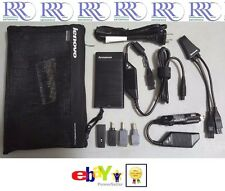 Lenovo ThinkPad IdeaPad 90W Ultraslim AC/DC Adapter 20V 19V 16V USB Tips 41R4493