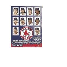 """Boston Red Sox 04 WS Player Edition 27"""" by 37"""" Vertical Flag (Indoor & Outdoor)"""