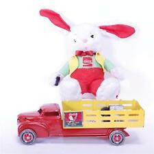 Coca-Cola Advertising Marx? Toy Truck and plush bunny rabbit doll. Lot 293