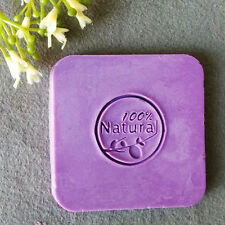 100% Natural Handmade Soap Seal Stamp Mold Chapter Acrylic Glass Custimized DIY