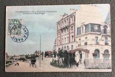 CPA.VILLENEUVE le ROI. 94 - Parc de la Faisanderie. Avenue de la République.1907