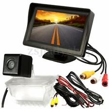 "4.3"" Reverse Camera Monitor Rear View Night Vision Cam Kit For Ford Fiesta Focus"