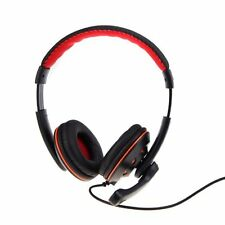 OVLENG OV-Q5 USB Stereo Kopfhoerer Ohrhoerer mit Mikrofon fuer PC Laptop DE