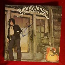 """""""Tommy James"""" signed album...""""My Head, My Bed & My Red Guitar!""""/stereo SR 3007"""