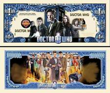 Dr WHO Billet MILLION DOLLAR US! Série SF Fantastic Collector Docteur Doctor UK
