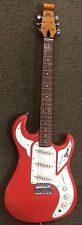 BURNS MARQUEE ELECTRIC GUITAR GUARDS RED NEW