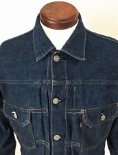 LEVIS 507XX Denim Jacket 38 Big E Dark Indigo 93s Vintage Japan Reproduction