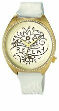 Authentic REPLAY Watch Royal Gold Stainless Steel ! case 44mm