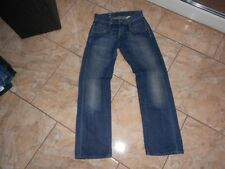 H1617 G-star radar straight jeans w30 bleu foncé sans motif