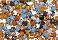 LEGO BULK LOT 2 OF 50 NEW COLORED MINIFIGURE HEADS SKELETONS CHIMA MONSTER MORE