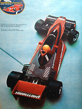original poster The First European FEMA Championship for Speed Model Cars 1987