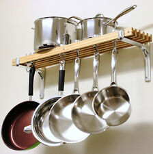 Pot Racks for Kitchen and Pans Hanging Cookware Holder Wall Mount Organizer New