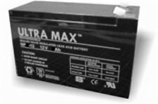 ULTRAMAX AGM 12v 9Ah (as 6Ah 7Ah 7.2Ah & 7.5Ah) - FLYMO CT250X STRIMMER BATTERY
